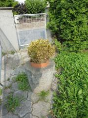 Blumentopf Granit