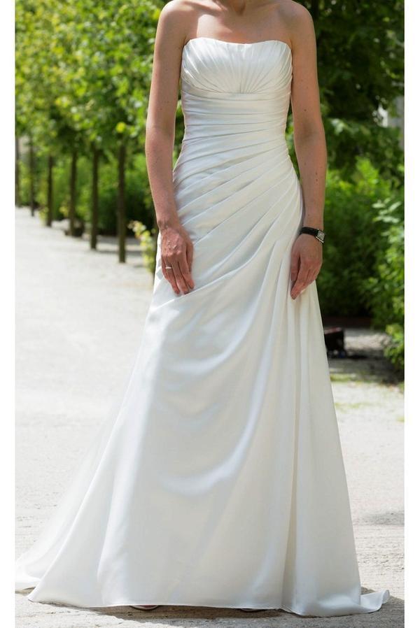 Fantastisch Hochzeitskleid Bustier Ideen - Brautkleider Ideen ...