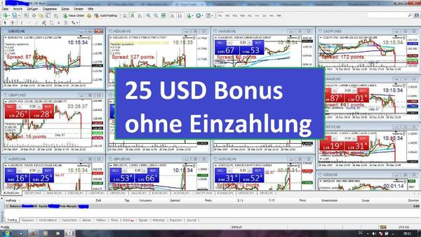 trading bonus ohne einzahlung