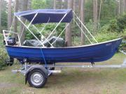Boot mit Motor
