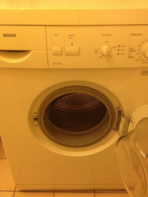 bosch waschmaschine in straubenhardt waschmaschinen kaufen und verkaufen ber private. Black Bedroom Furniture Sets. Home Design Ideas