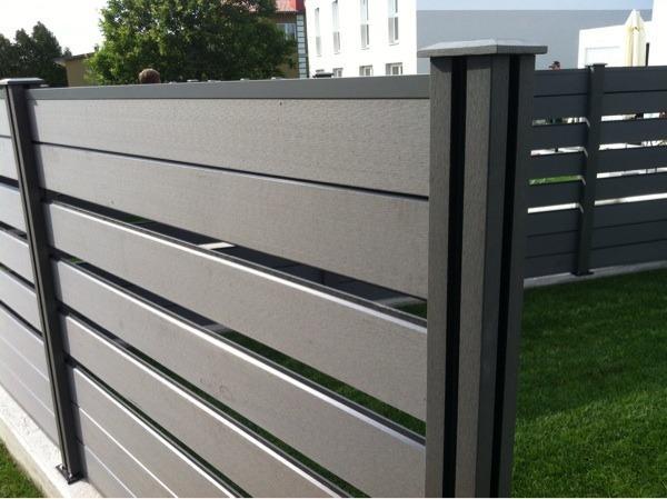 bpc gartenzaun zum bestpreis mit montagehilfe in With französischer balkon mit steine für gartenzaun