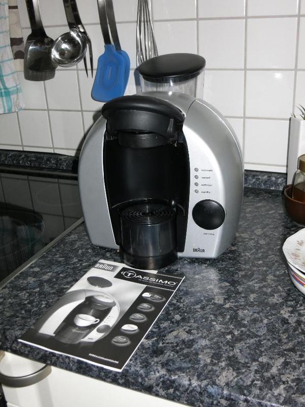 braun tassimo kaffee pad maschine in darmstadt kaffee. Black Bedroom Furniture Sets. Home Design Ideas
