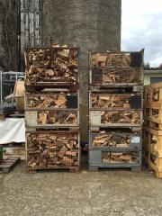 Brennholz Spaltreste Buche