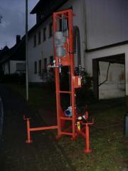 Brunnenbohrgerät Spülkopf Bohrkopf