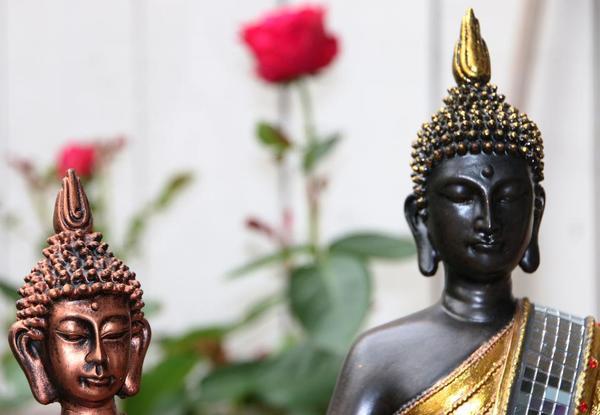 buddha statue neu in dornbirn dekoartikel kaufen und verkaufen ber private kleinanzeigen. Black Bedroom Furniture Sets. Home Design Ideas