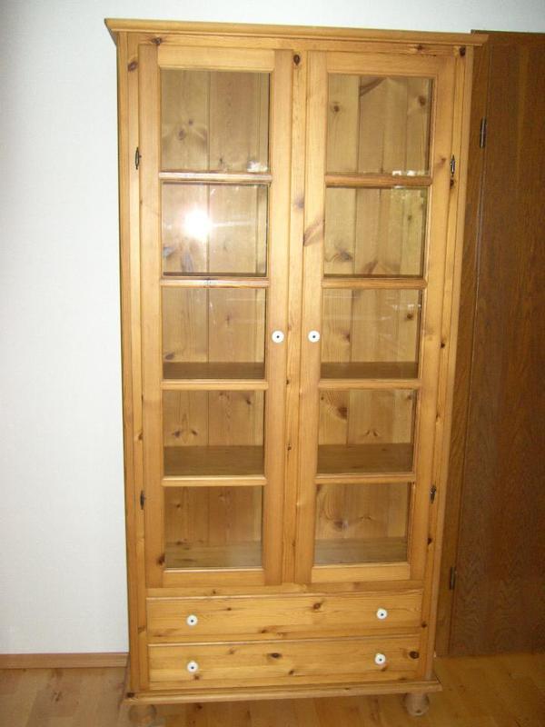 b cherschrank weichholz massiv in stuttgart stilm bel bauernm bel kaufen und verkaufen ber. Black Bedroom Furniture Sets. Home Design Ideas