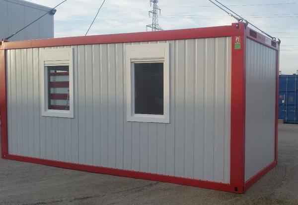 b rocontainer wohncontainer baustellencontainer neu in st p lten sonstiger gewerbebedarf. Black Bedroom Furniture Sets. Home Design Ideas