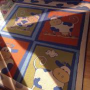 Bunter Kinderzimmer Teppich