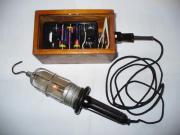 Caminglampe mit Batteriekästchen -