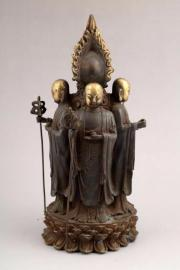 CHINESE GILT- LACQUERED