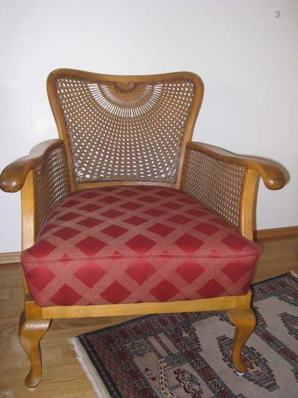 chippendale gobelin sessel in rimbach stilm bel. Black Bedroom Furniture Sets. Home Design Ideas