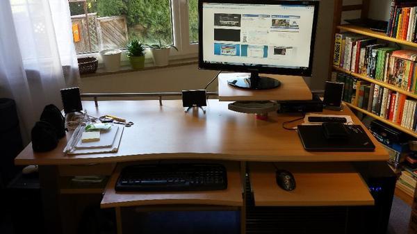 Computer schreibtisch jahnke otl 155 in esslingen for Schreibtisch jahnke