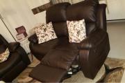 Couch Dunkelbraun