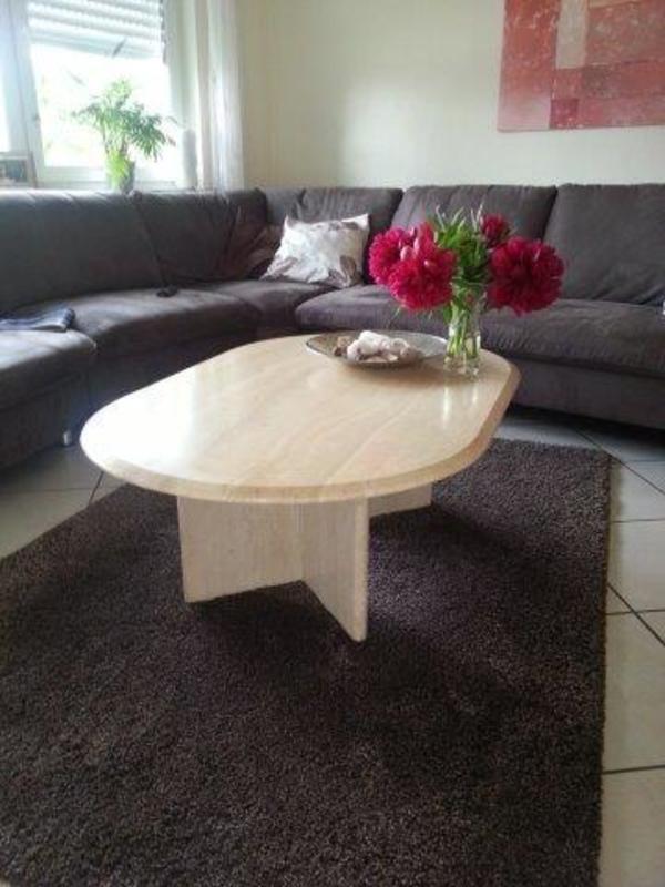 Couchtisch marmor gebraucht kaufen 3 st bis 65 g nstiger for Couchtisch aus travertin