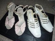 Damen-Schuhe wenig
