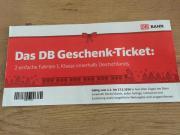 DB Geschenkticket 2