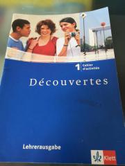 Decouvertes 1, Cahier