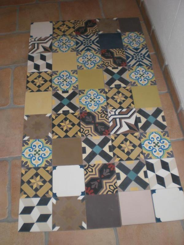 dekorative zementfliesen in uttenreuth fliesen keramik. Black Bedroom Furniture Sets. Home Design Ideas