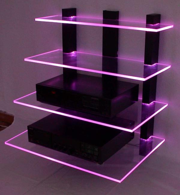 design wand hifi rack led beleuchtet kleinanzeigen aus. Black Bedroom Furniture Sets. Home Design Ideas