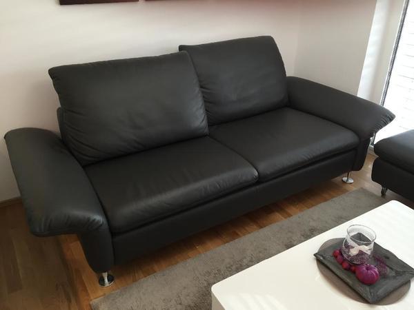 designercouch willi schillig in leder mit zus tzl. Black Bedroom Furniture Sets. Home Design Ideas