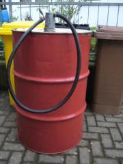 Dieselfass mit Pumpe,