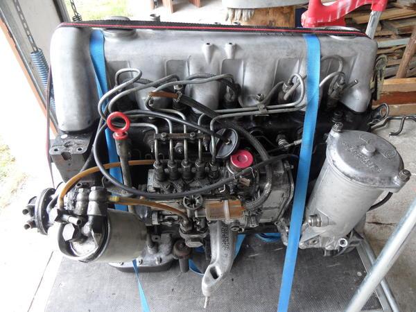 dieselmotor mercedes 300d 5 zylinder 3 0l w123 65kw. Black Bedroom Furniture Sets. Home Design Ideas