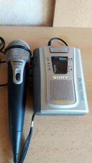 Diktiergerät mit Mikrofon