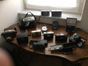 diverse Fotoapparate - Sammlerstücke