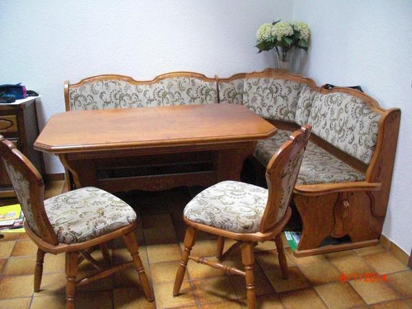 Eckbank massiv neu und gebraucht kaufen bei - Eckbank mit tisch und stuhle ...