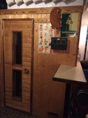 Einbau Sauna