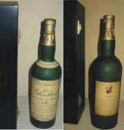 einmalige Whiskyflasche Glenlivit