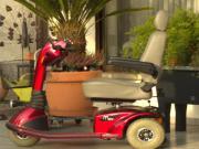 Elektromobil, Seniorenmobil, Scooter,