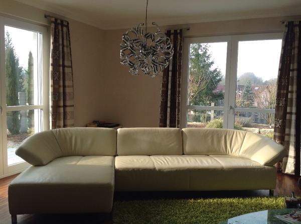 ewald schillig butterfly ledercouch abzugeben in. Black Bedroom Furniture Sets. Home Design Ideas