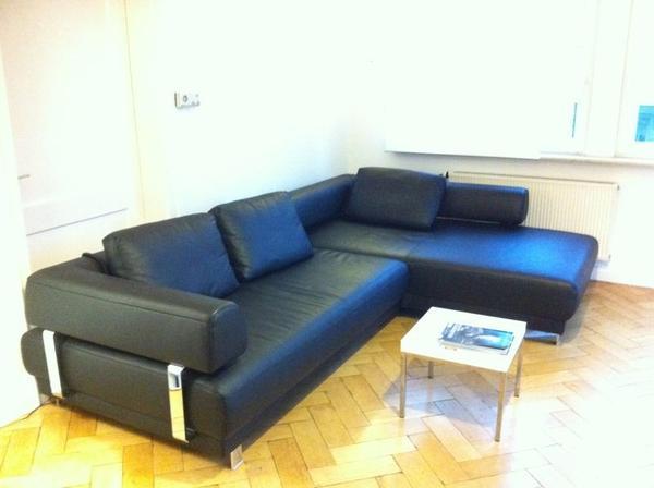 ewald schillig face sofa hochwertiges dickleder in. Black Bedroom Furniture Sets. Home Design Ideas