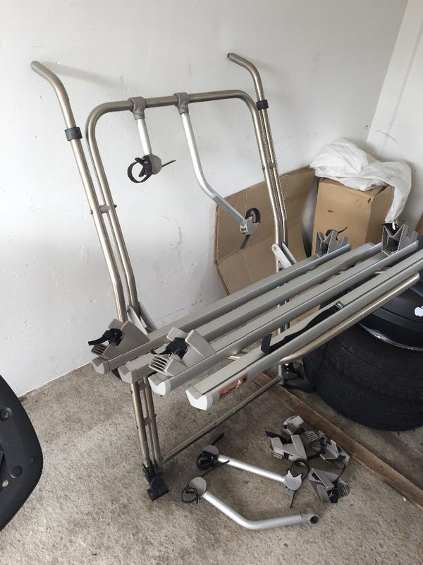 fahrradtr ger eurocarry edelstahl 4 r der in wolfsburg. Black Bedroom Furniture Sets. Home Design Ideas