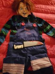 Fasching Kostüm Chucky