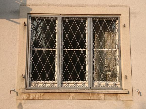Fenstergitter 3 Tlg Verzinkt B 168 Cm H 136 Cm