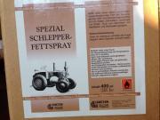 Fettspray für Schlepper