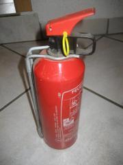 Feuerlöscher, 1kg Autofeuerlöscher