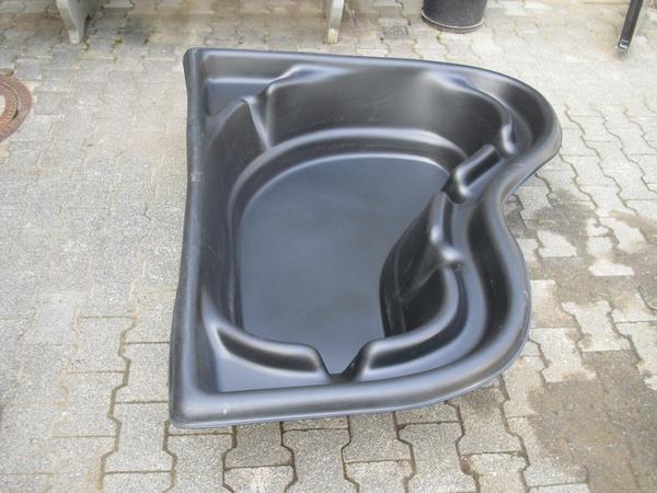 fischteich aus kunststoff zum eingraben in die erde in gro umstadt sonstiges f r den garten. Black Bedroom Furniture Sets. Home Design Ideas