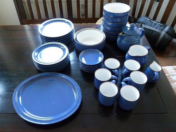 friesland porzellan blau k chen kaufen billig. Black Bedroom Furniture Sets. Home Design Ideas