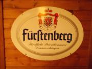 Fürstenberg Bier Schild