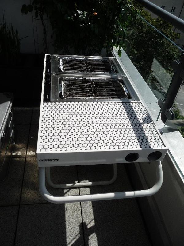 gaggenau grillmobil fast neu in m nchen k chenherde grill mikrowelle kaufen und verkaufen. Black Bedroom Furniture Sets. Home Design Ideas