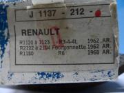 Garagenfund Bremsbeläge Renault