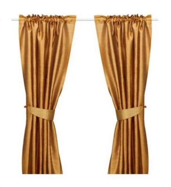 gardinen raffhalter kupfer gl nzend 2 sets ikea. Black Bedroom Furniture Sets. Home Design Ideas