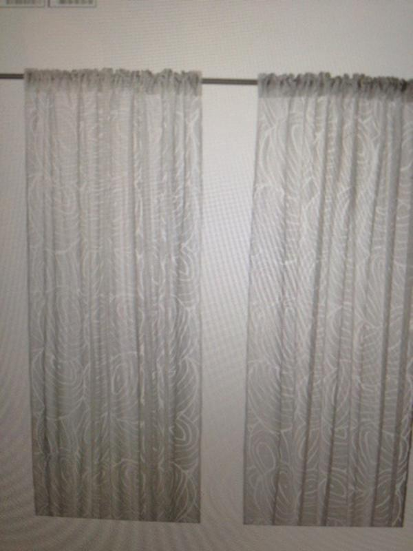 gardinen wei nordis von ikea in stuttgart gardinen jalousien kaufen und verkaufen ber. Black Bedroom Furniture Sets. Home Design Ideas