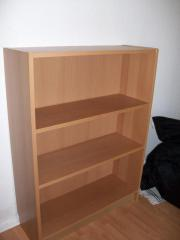 billy buecherregal buchenfurnier haushalt m bel gebraucht und neu kaufen. Black Bedroom Furniture Sets. Home Design Ideas