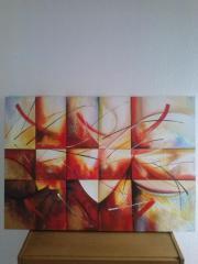 Gemälde auf Leinwand