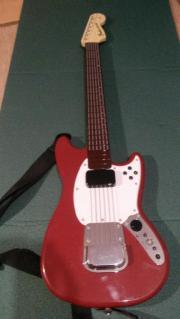 """Gitarre Wireless """"Rock Band PRO"""" Fender-Mustang für XBox 360 gebraucht kaufen  Bingen"""